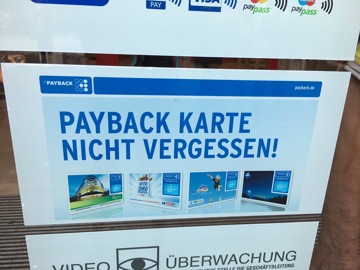 Payback Karte Vergessen.Payback Karte Payback Karte With Payback Karte Latest With Payback