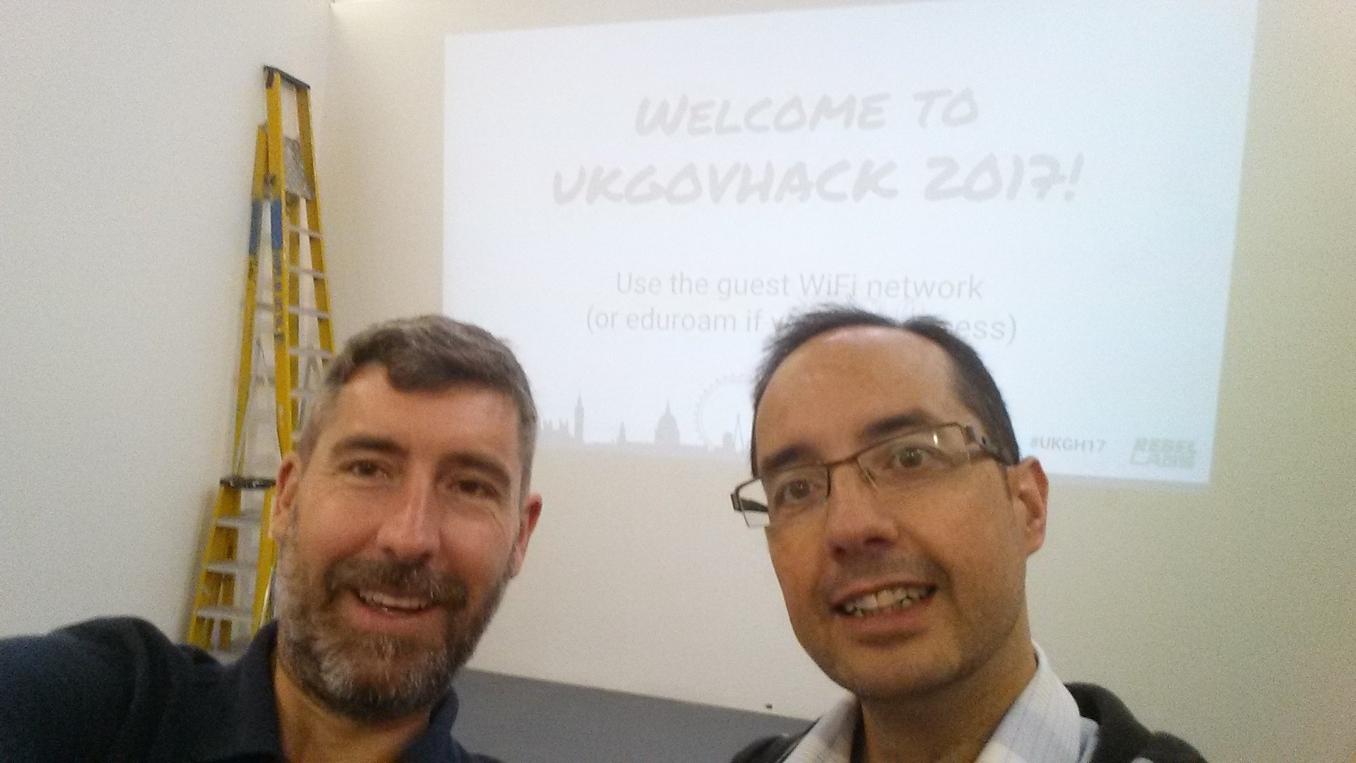 @drsiant @jespinera @foodgov Our first ukgovhack #UKGH17 Looking forward to learn a lot @drsiant @jespinera https://t.co/OJxQXywDHD