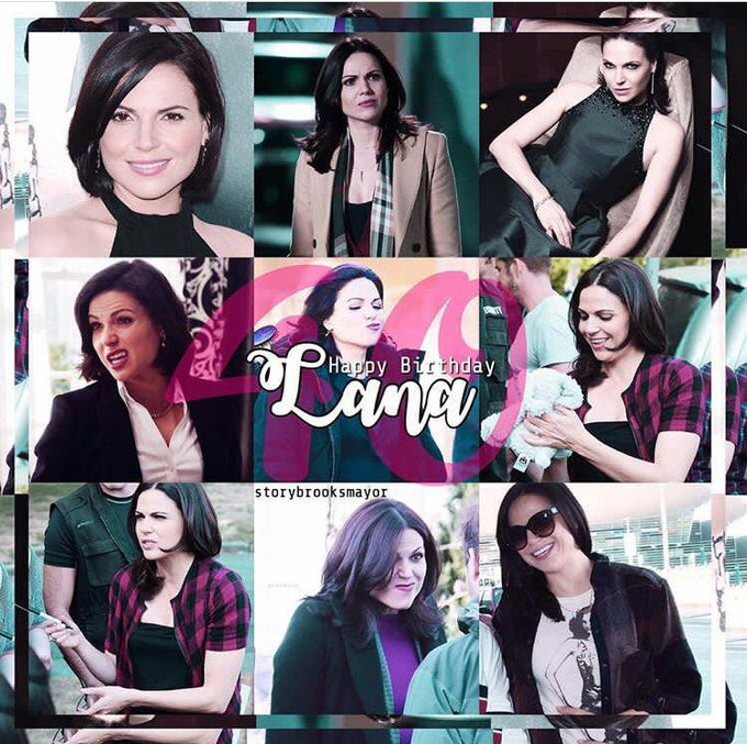 Happinees is to live on one planet with Lana Parrilla  Happy birthday from Kazakhstan, my Queen
