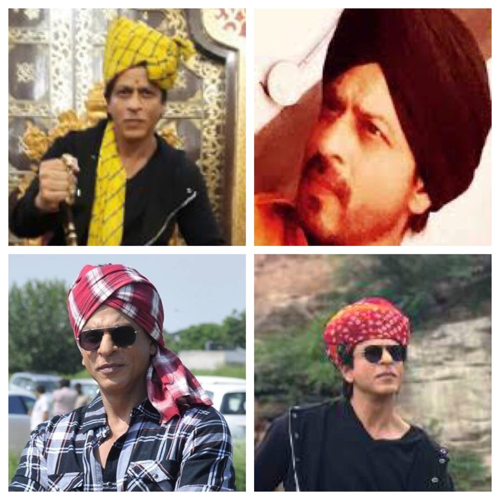 Of beautiful & happy Tales & Head gears of Punjab & Rajasthan. #HarryonTour