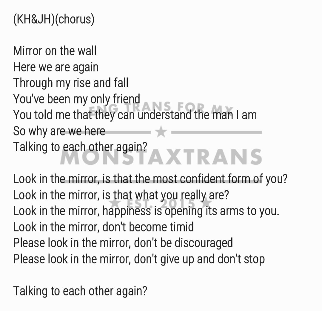 Mxtrans on twitter lyrics mirror by 2 chain kihyun 253 am 15 jul 2017 amipublicfo Images