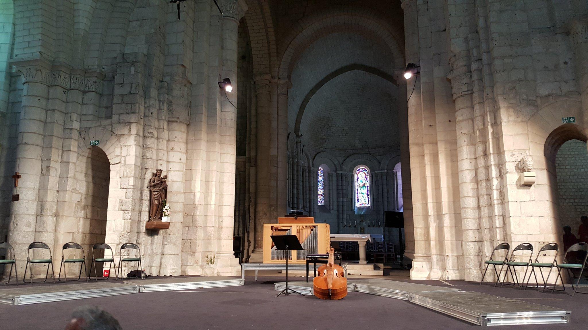 #FestivalDeSaintes #3 Vox Luminis dans des motets de la famille Bach @Abbayeauxdames D6 https://t.co/MtOWH0KhiN