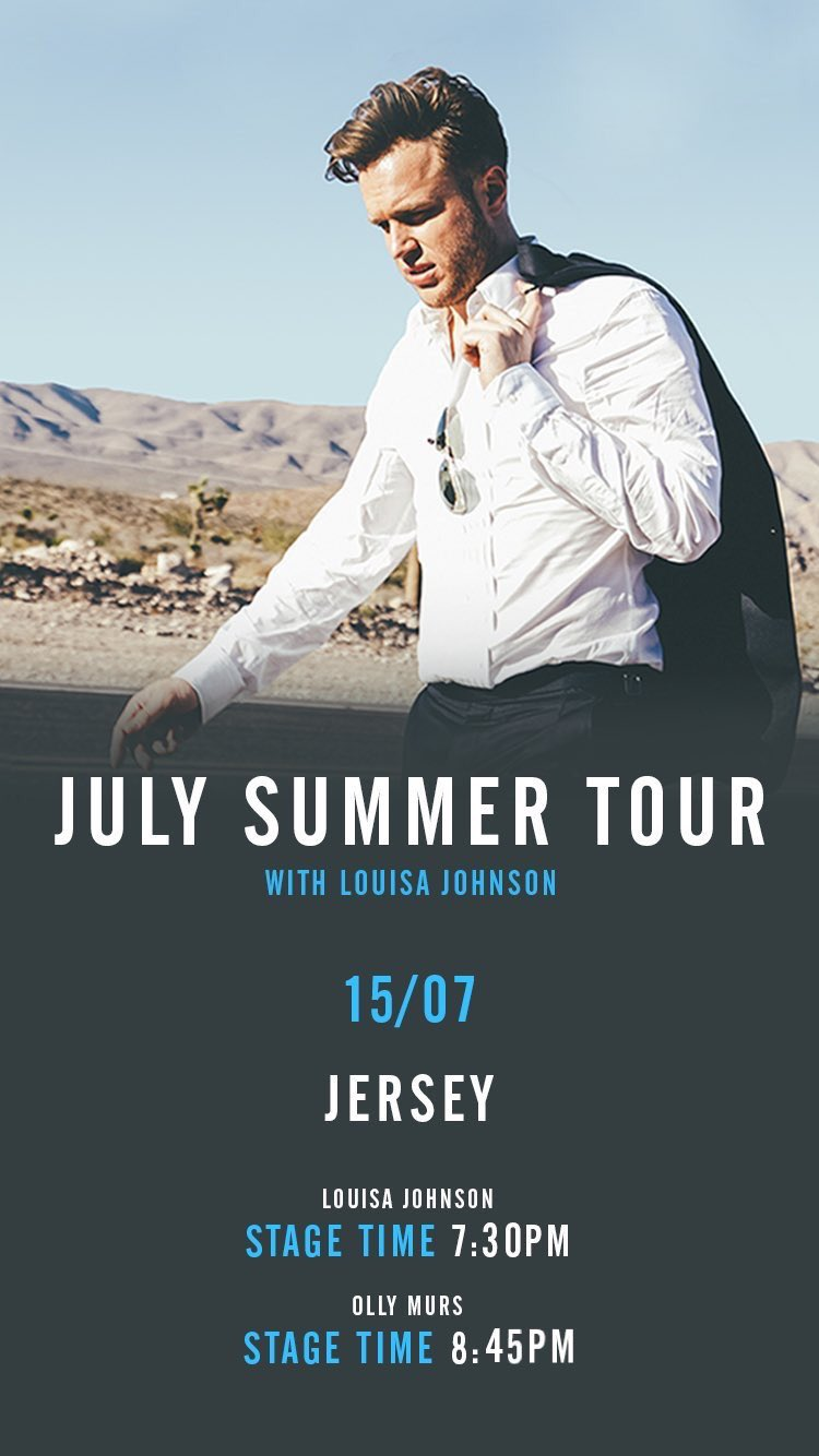 Tonights stage times in Jersey @BigGigJersey 😝✌🏻see you soon https://t.co/FPtDmc1wu2