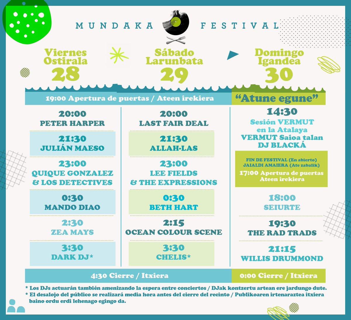 Cartel del Mundaka Festival 2017