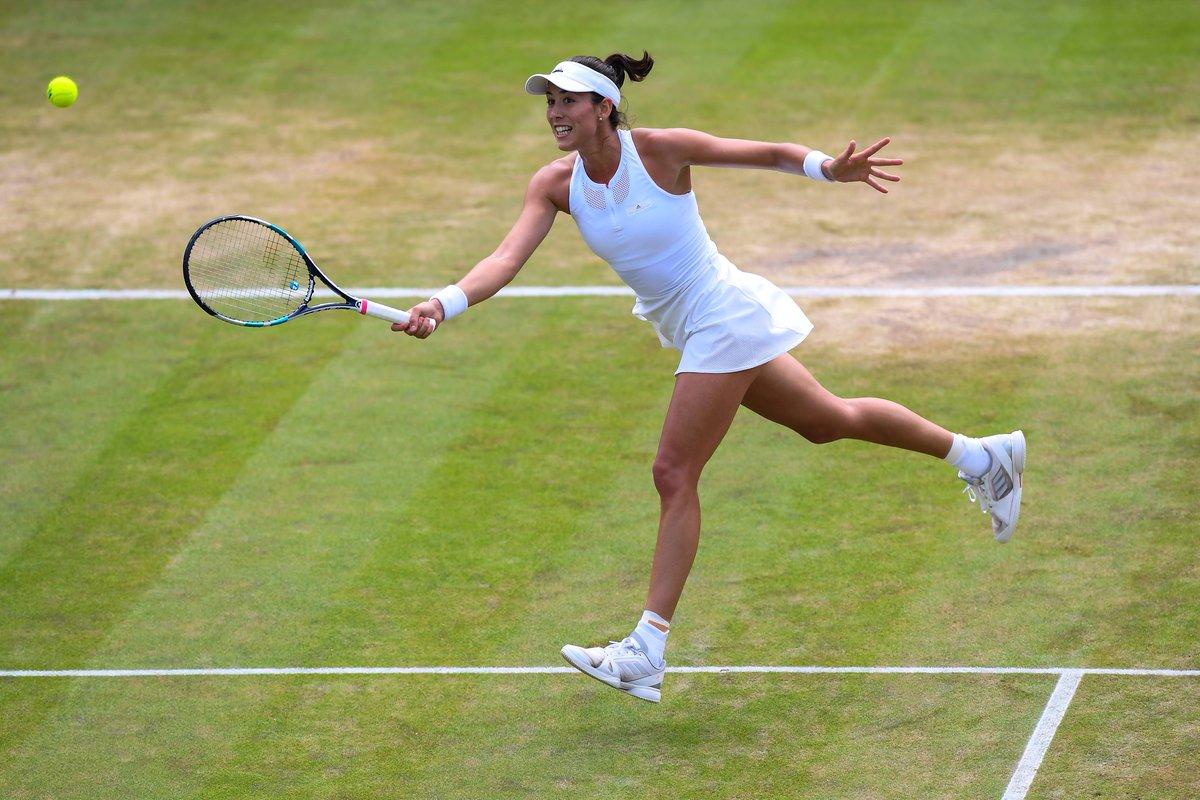 Vamos @GarbiMuguruza!! Good luck in the @Wimbledon FINAL! #aSMC
