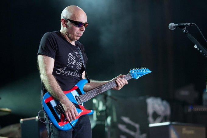 Happy Birthday Joe Satriani ( July 15, 1956 ) - Flying in a Blue Dream . . .