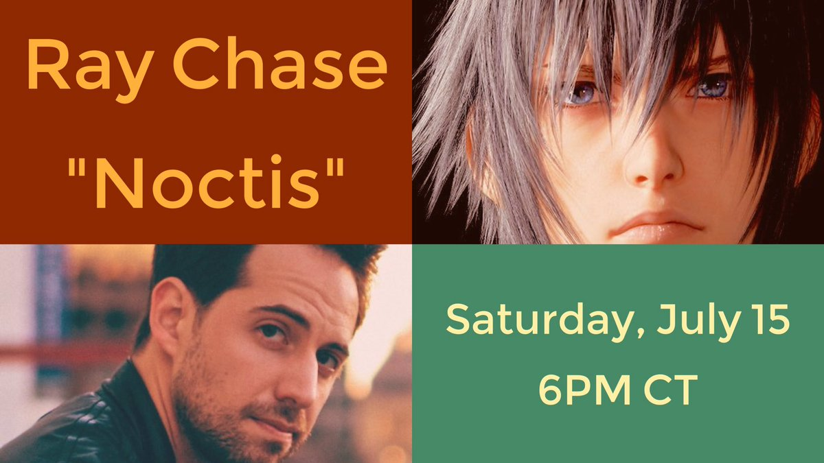 We're interviewing Noctis voice actor @RayChase at 6pm CT at http://twitch.tv/thespeedgamers for @StJude! Spread the word, and tune in for #TSGFF17!