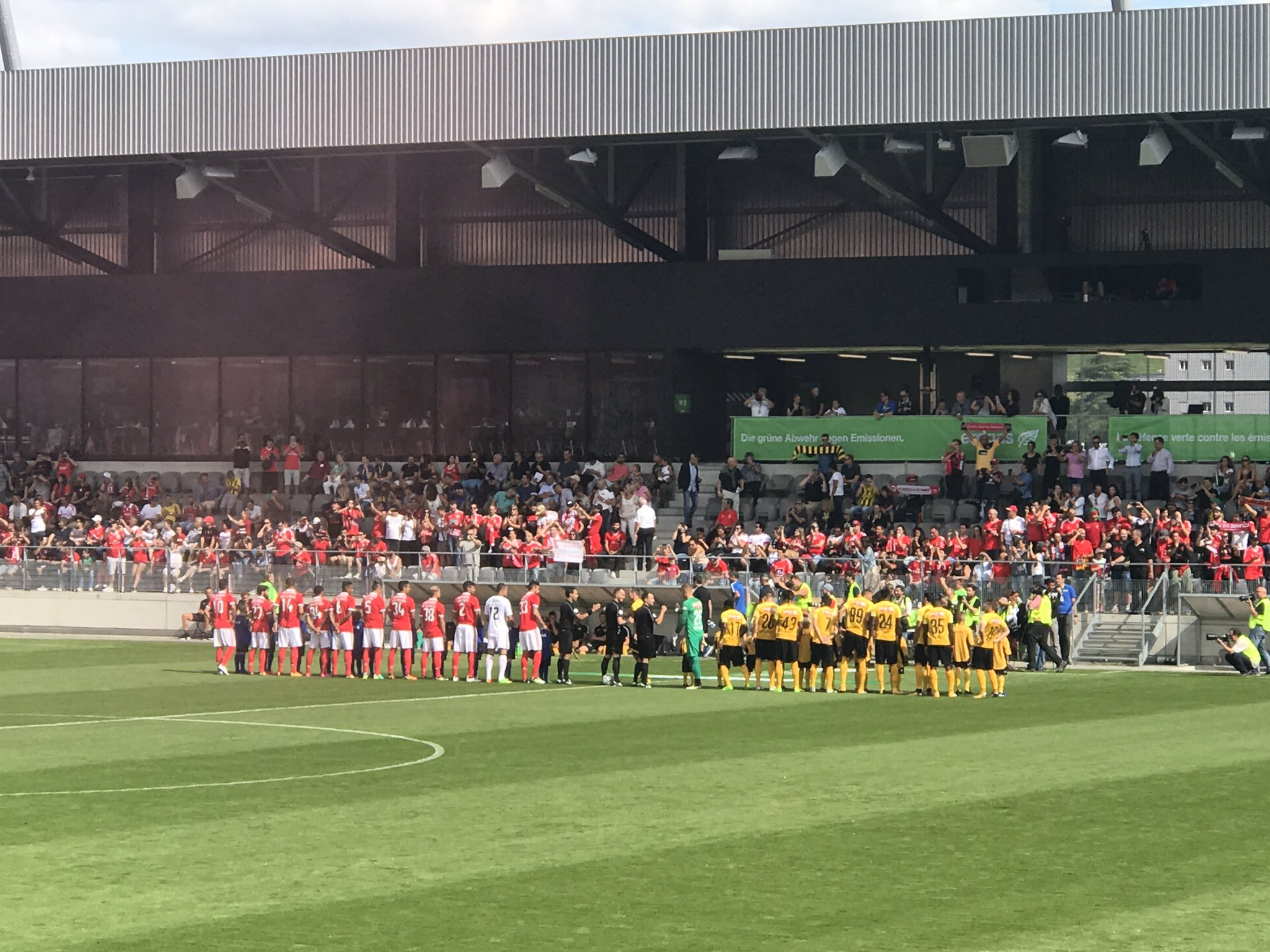 Game on! #slblive #UhrenCup https://t.co/s6GwwLo44f