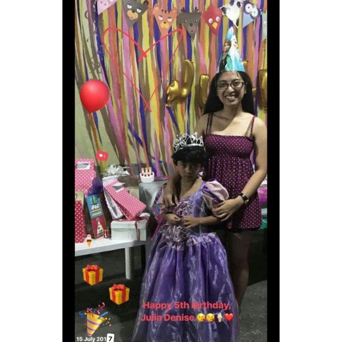 My Goddaughter slash niece happy birthday again, Jaydie      loves you, kulotchie