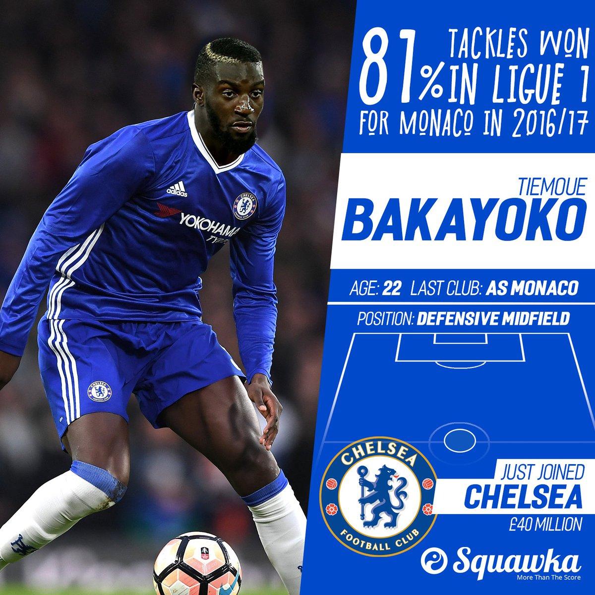 BREAKING Chelsea Signs Tiemoue Bakayoko From Monaco For £40 million