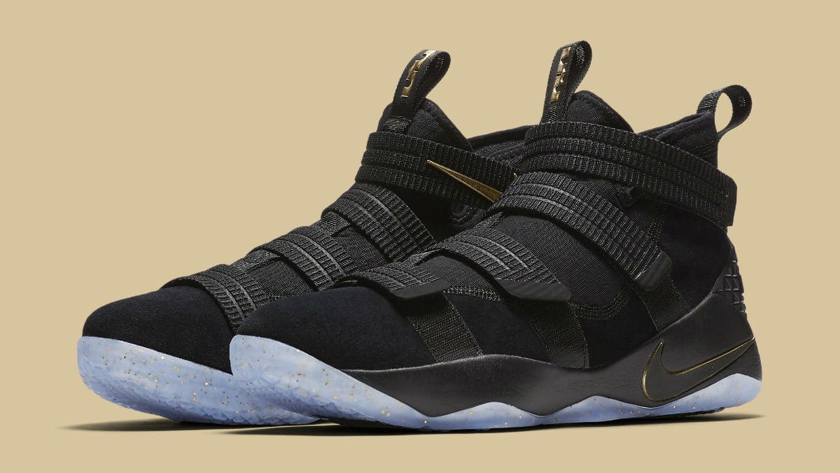 best website 98ac6 ed3b9 a finals look for the nike lebron soldier 11
