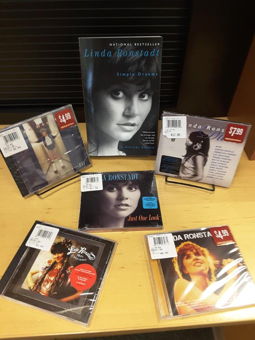 Happy Birthday Linda Ronstadt! Celebrate with cd\s or book!