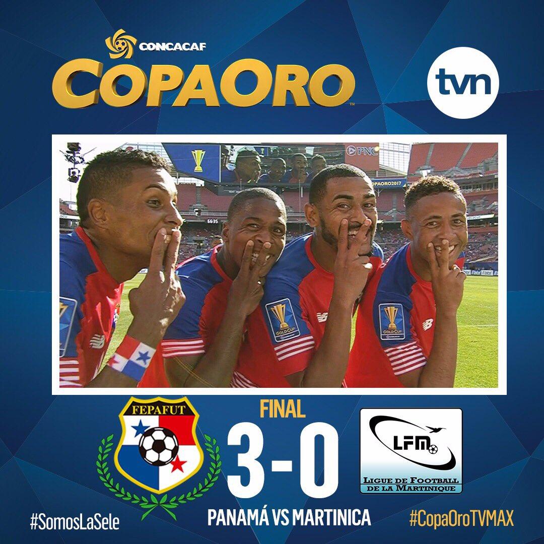 Gana Panama 3 0 A Martinica Y Pasamos A Cuartos De Final De La Copa