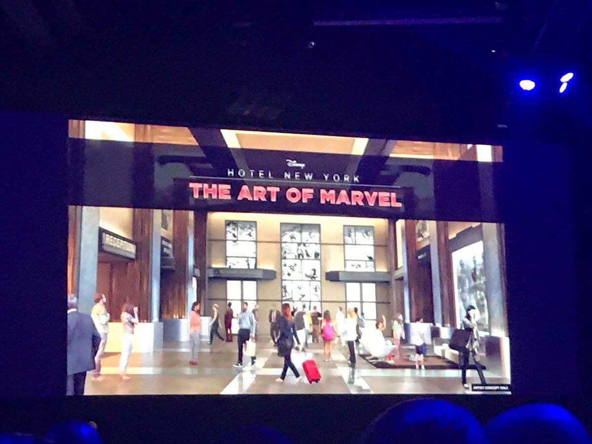 [Officiel] Disney's Hotel New York rethématisé - The Art of Marvel (fermeture en janvier 2019 jusqu'à 2020) - Page 3 DEz8eSAXUAAuThi