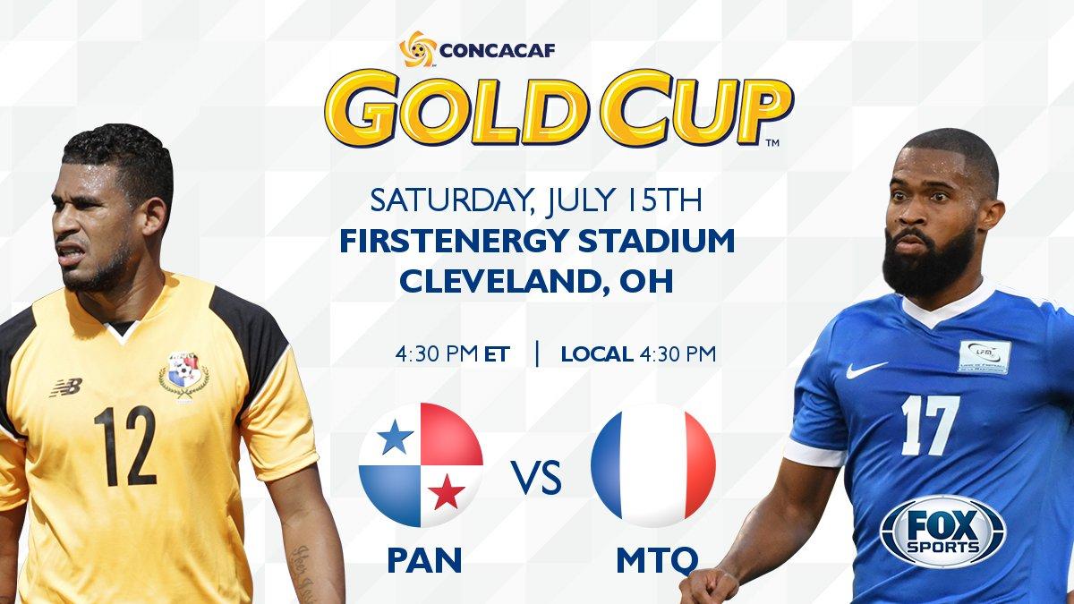 TONIGHT, watch #PAN  v #MTQ  kicking off at 4:30pm ET/ 4:30pm local on @FOXSoccer @fepafut  @LFM972_officiel  #GoldCup2017 <br>http://pic.twitter.com/L7Fg1qgsiW