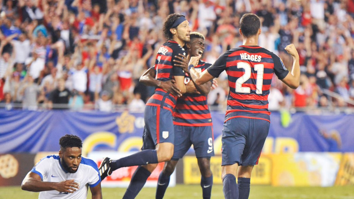 Watch #CONCACAFGoldCup #Soccer HERE on Big Screens! #MTQ  vs #PAN  at 1:30 followed by #NCA  vs #USA  at 4pm. #HomeStyleFood #CraftBeer #BayArea<br>http://pic.twitter.com/rehSRGbZ1m