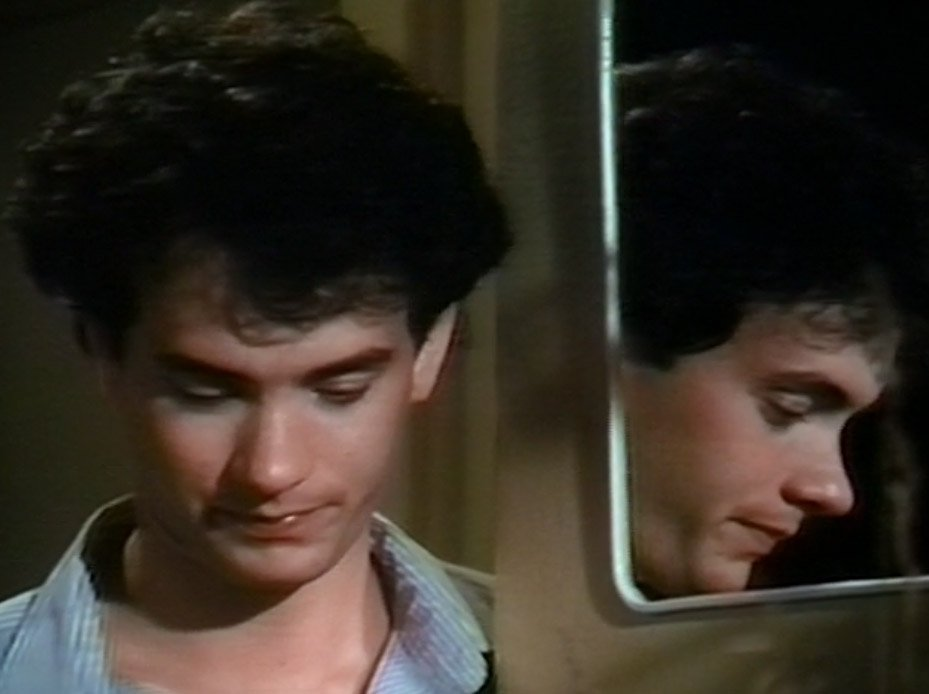 Backstory time: Robbie had a brother who ran away for no particular reason.  Sad Baby Tom Hanks :-(  (W/Bonus mirror SBTH.)  #MazeMonsters https://t.co/3wzWX2v35d