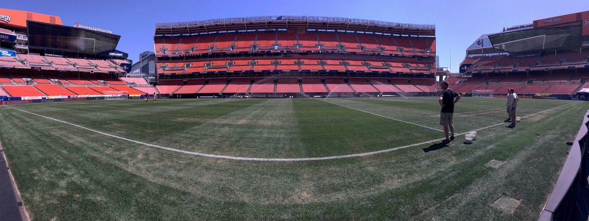 The field is ready for #PAN  vs #MTQ - are you? Kick off at 4:30pm! #GoldCup2017 <br>http://pic.twitter.com/91KM1jOjQ1