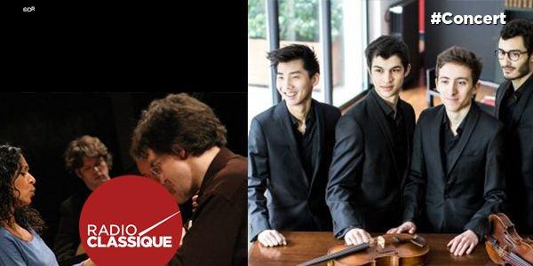 #Concert A 22h, en direct sur Radio Classique, le Quatuor Arod depuis le Festival de #Saintes ! @Abbayeauxdames >>https://t.co/mcwikc6xCW https://t.co/cJu88ImlDn