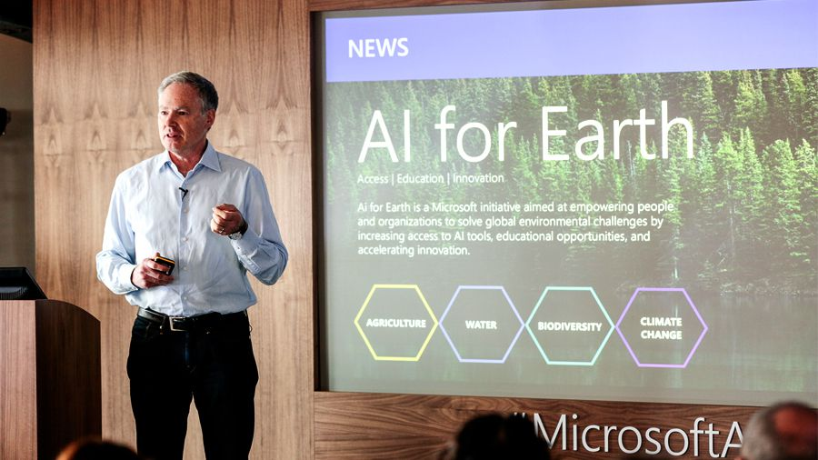 #Microsoft announces #AI for #Earth! #ML #MachineLearning #Tech #Innovation  http:// ow.ly/wHuu30dCZz8  &nbsp;  <br>http://pic.twitter.com/wVr6S2rUZa
