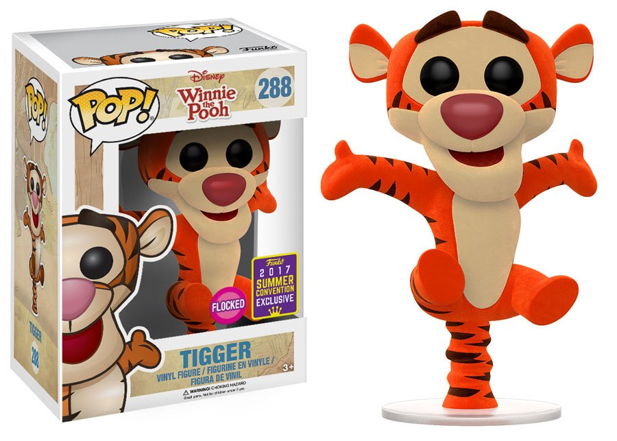 RT & follow @OriginalFunko for the chance to win an #SDCC exclusive flocked Tigger Pop! https://t.co/BWEep8KJae