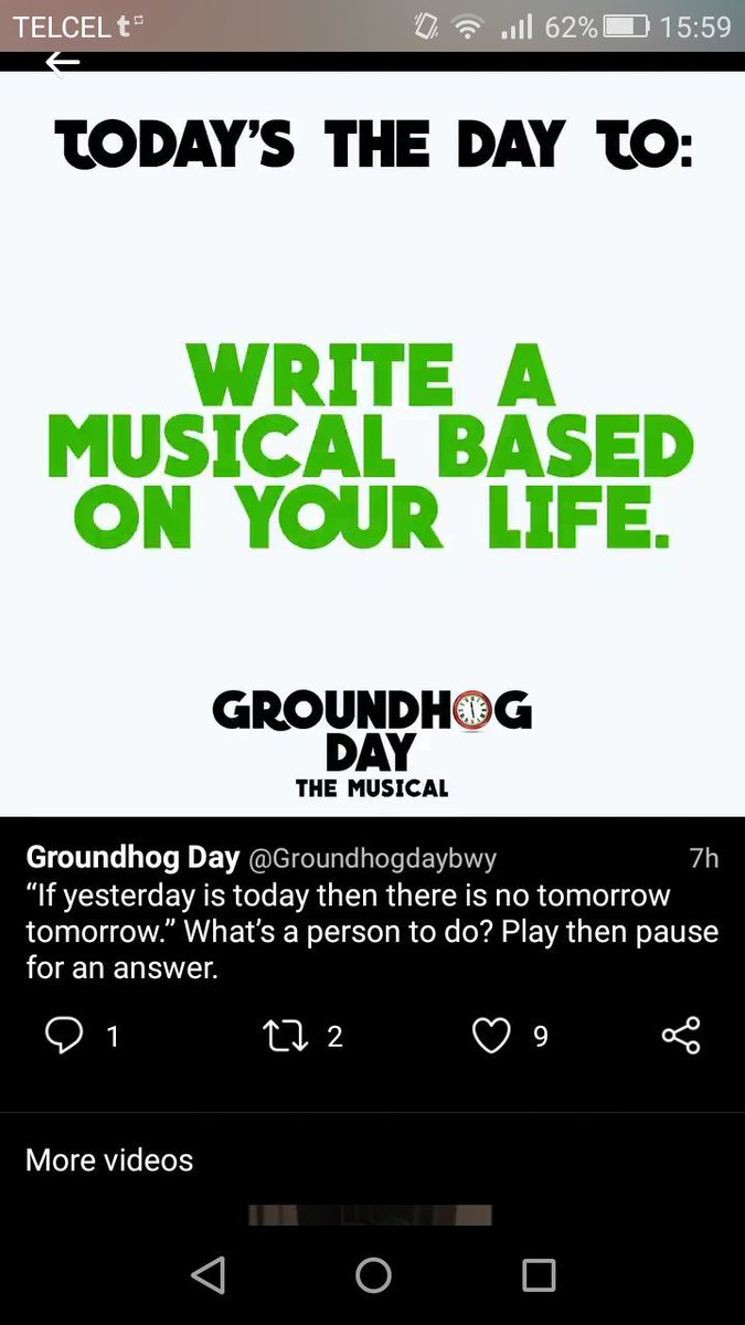 Yesterday Seems To Have Been My Day For >> Groundhog Day On Twitter If Yesterday Is Today Then There Is No