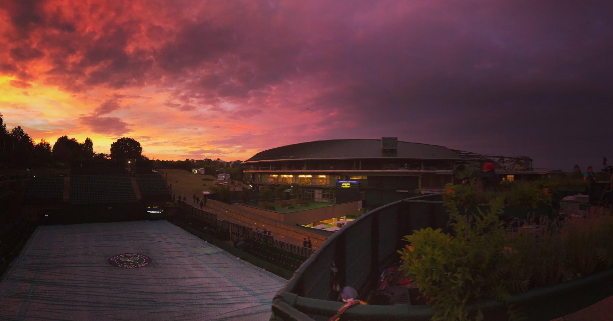 Wimbledon, we're going to miss you �� https://t.co/sU7fLqd5nn
