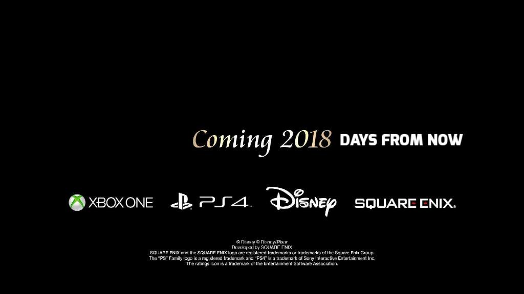 I have corrected the typo at the end of the Kingdom Hearts 3 trailer https://t.co/m7v68jSg39