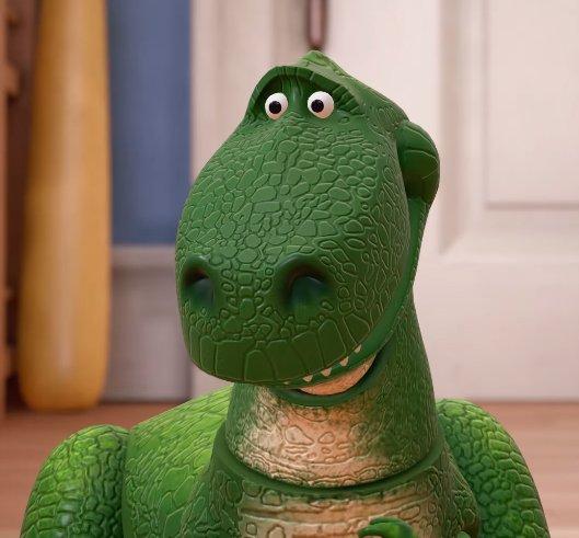 Tristan Cooper On Twitter Rex In Toy Story 1 Vs Rex In Kingdom
