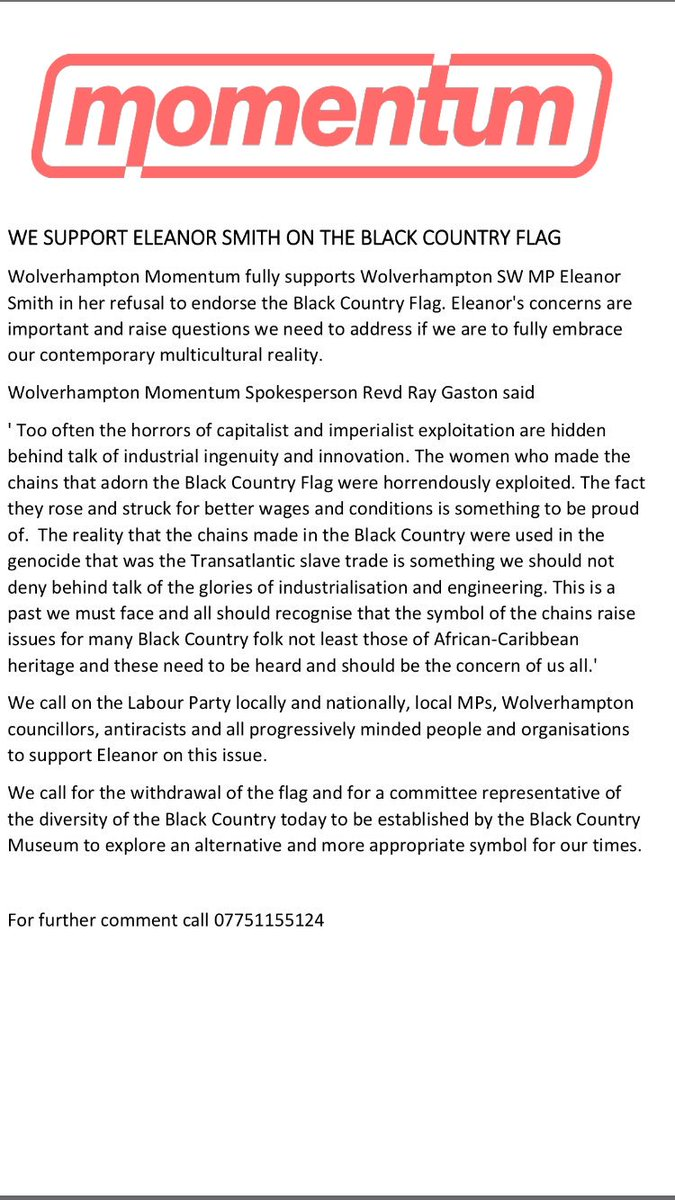 Ray gaston on twitter wolverhampton momentum support ray gaston on twitter wolverhampton momentum support eleanorsmithmp on the black country flag peoplesmomentum httpstxcxp9htdfo biocorpaavc Images