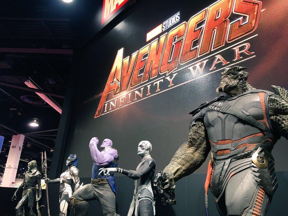 Thanos e a Ordem Negra de Vingadores - Guerra Infinita (D23 Expo)