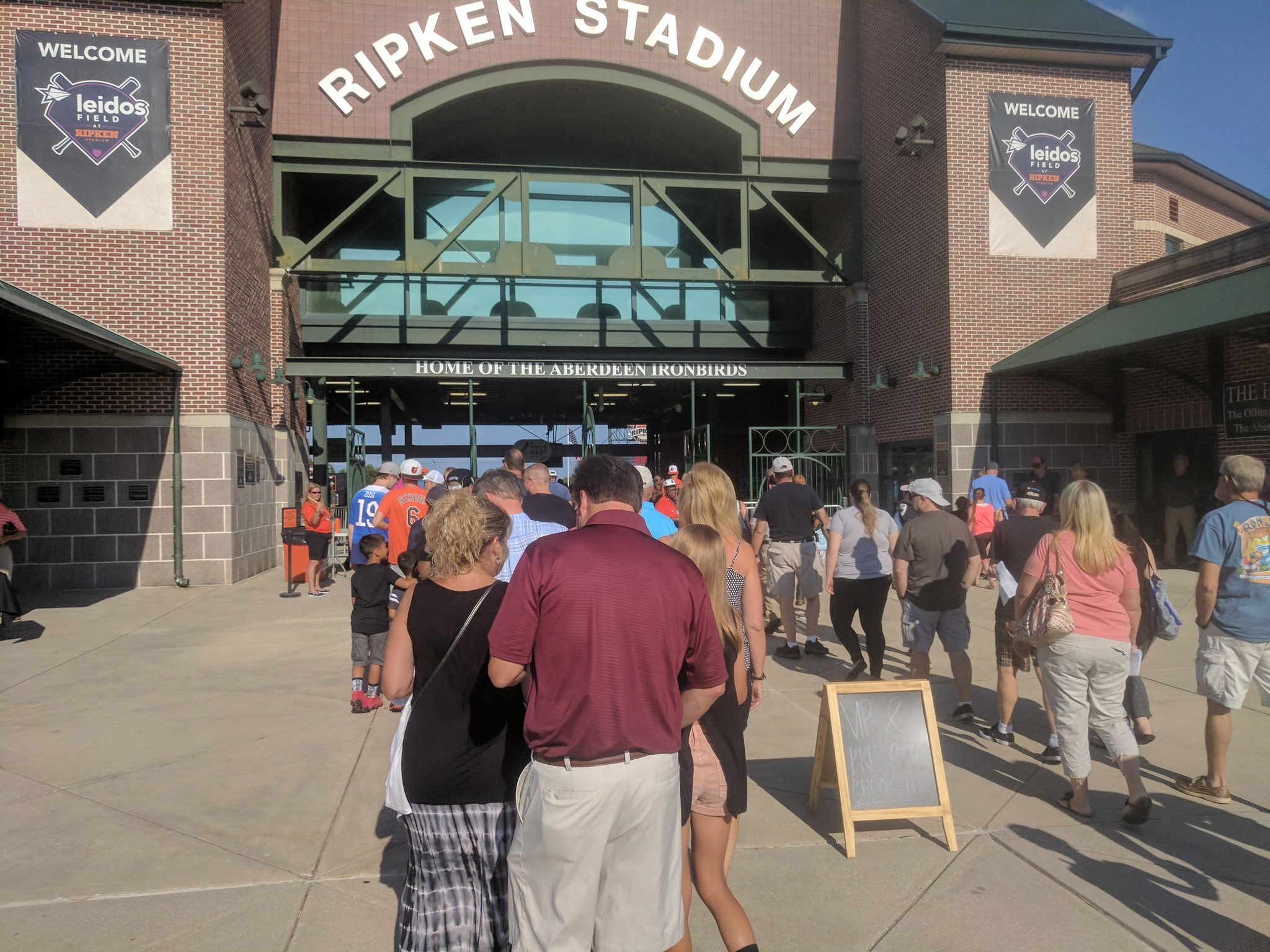 Ripken Stadium Entrance Gate