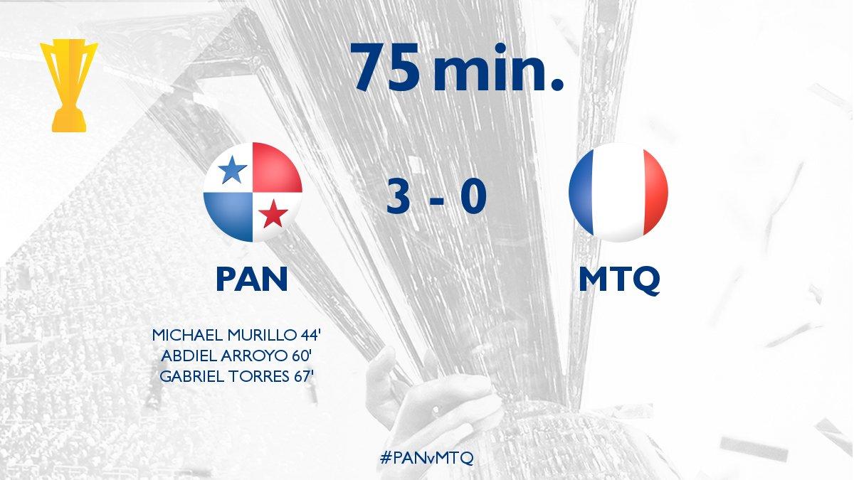 Live Score@FEPAFUT3 - 0@LFM972_officiel|#GoldCup2017  #CopaOro2017  #PAN  #MTQ  <br>http://pic.twitter.com/drVUe1akgG