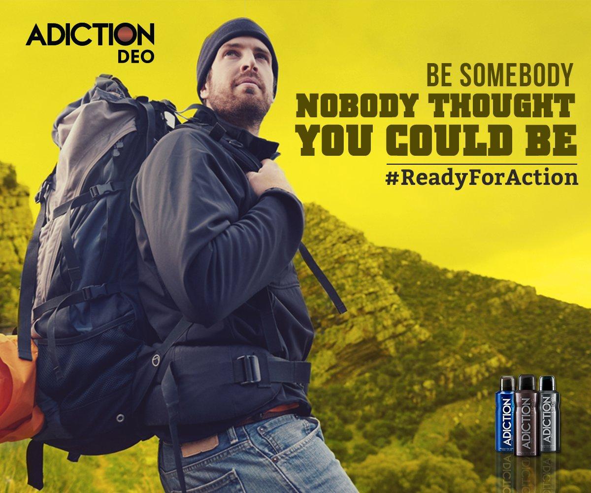 Surprise yourself everyday. #ReadyForAdiction https://t.co/4MC1m48jpA