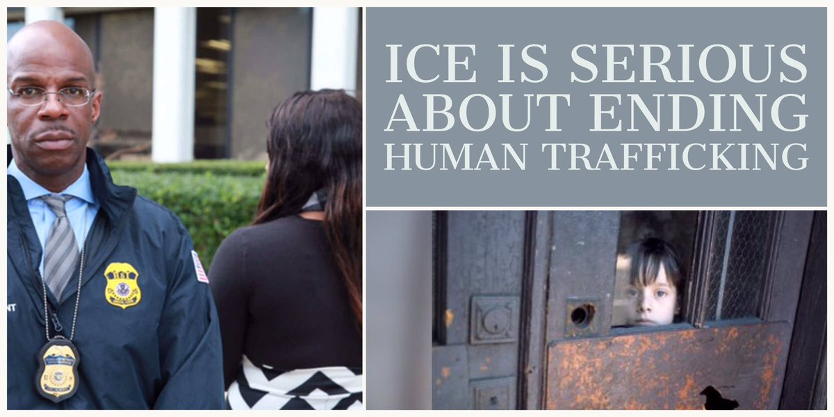 Human trafficking is one of the most heinous crimes investigated by ICE. In its worst manifestation, #humantrafficking is akin to modern-day slavery.  https://www.ice.gov/features/human-trafficking-victim-shares-story …