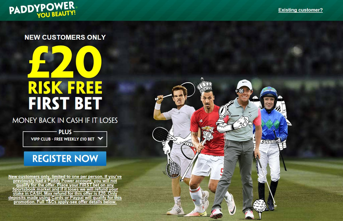Paddy Power Betting Bonus