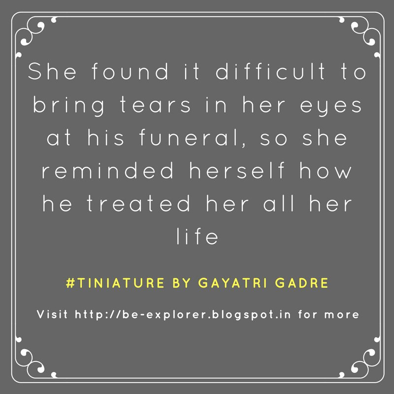 #Tiniature.  To participate- 1.RT 2.reply with ur #TinyStory 3.use #Tiniature #tinystories #microstories #tinytales #amwriting #BeingAuthor https://t.co/3JcHItHCyl