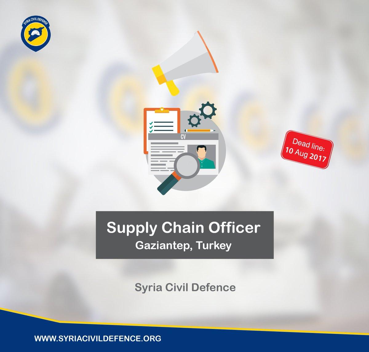 الدفاع المدني السوري On Twitter Job In Syria Civil Defence Supply