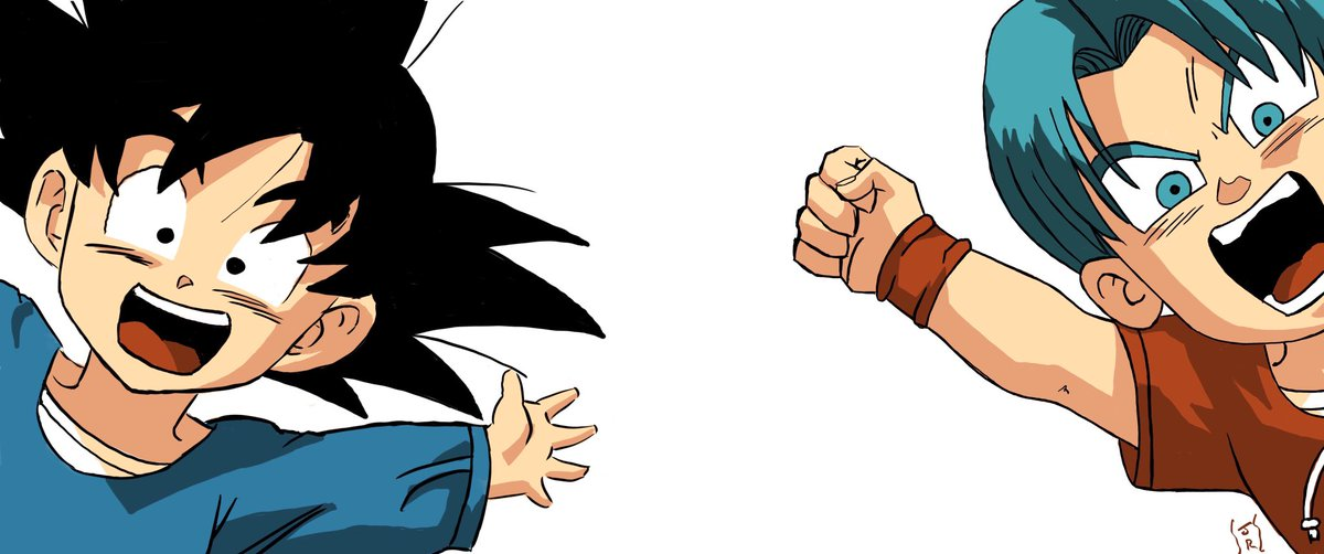 Meleagan On Twitter Dragonballz Manga Goten Trunks