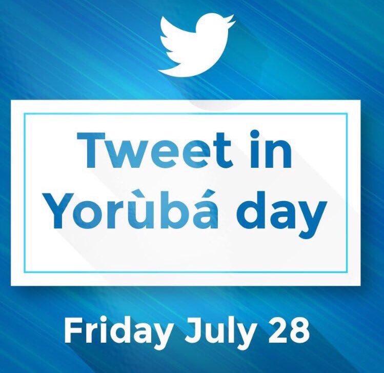 tweetyoruba hashtag on Twitter