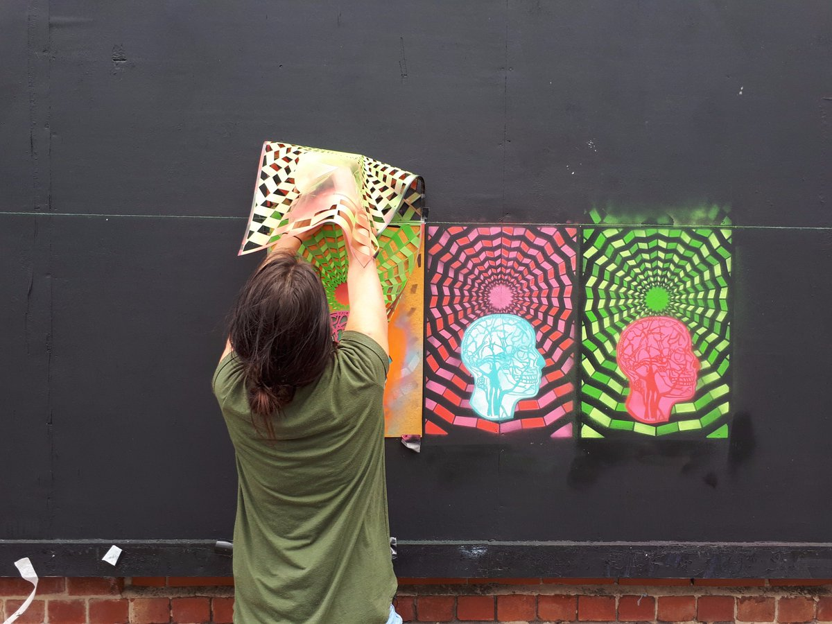 Our new Bloc Billboard by artist @lizvongee is coming along nicely. More updates coming soon...#blocprojects #artsheffield #lizvongraevenitz<br>http://pic.twitter.com/yUZ4y08JXe