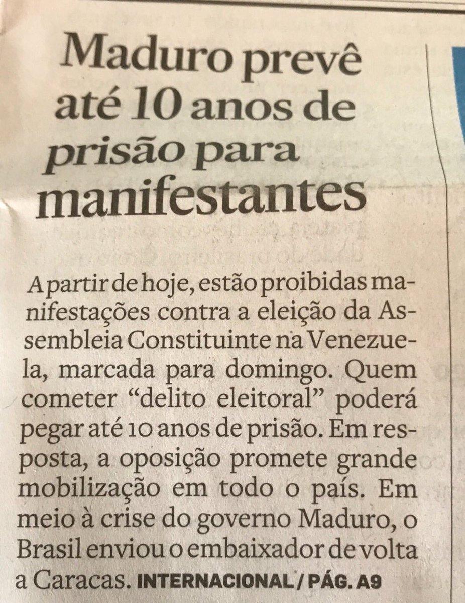 Semana passada PT assinou apoio. PSOL (que diz ter 'liberdade' no nome) sempre o apoiou. O tais Jornalistas LIVRES não soltaram uma notinha.
