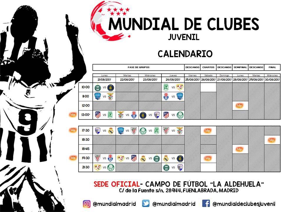 Calendario Mundial Clubes.Mundial Clubes Juv On Twitter Importante El