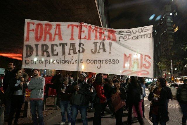 A @frentebrasilpop realizará atos nas capitais de todo o Brasil no dia da votação contra Temer na Câmara. https://t.co/pSh8SySpgN