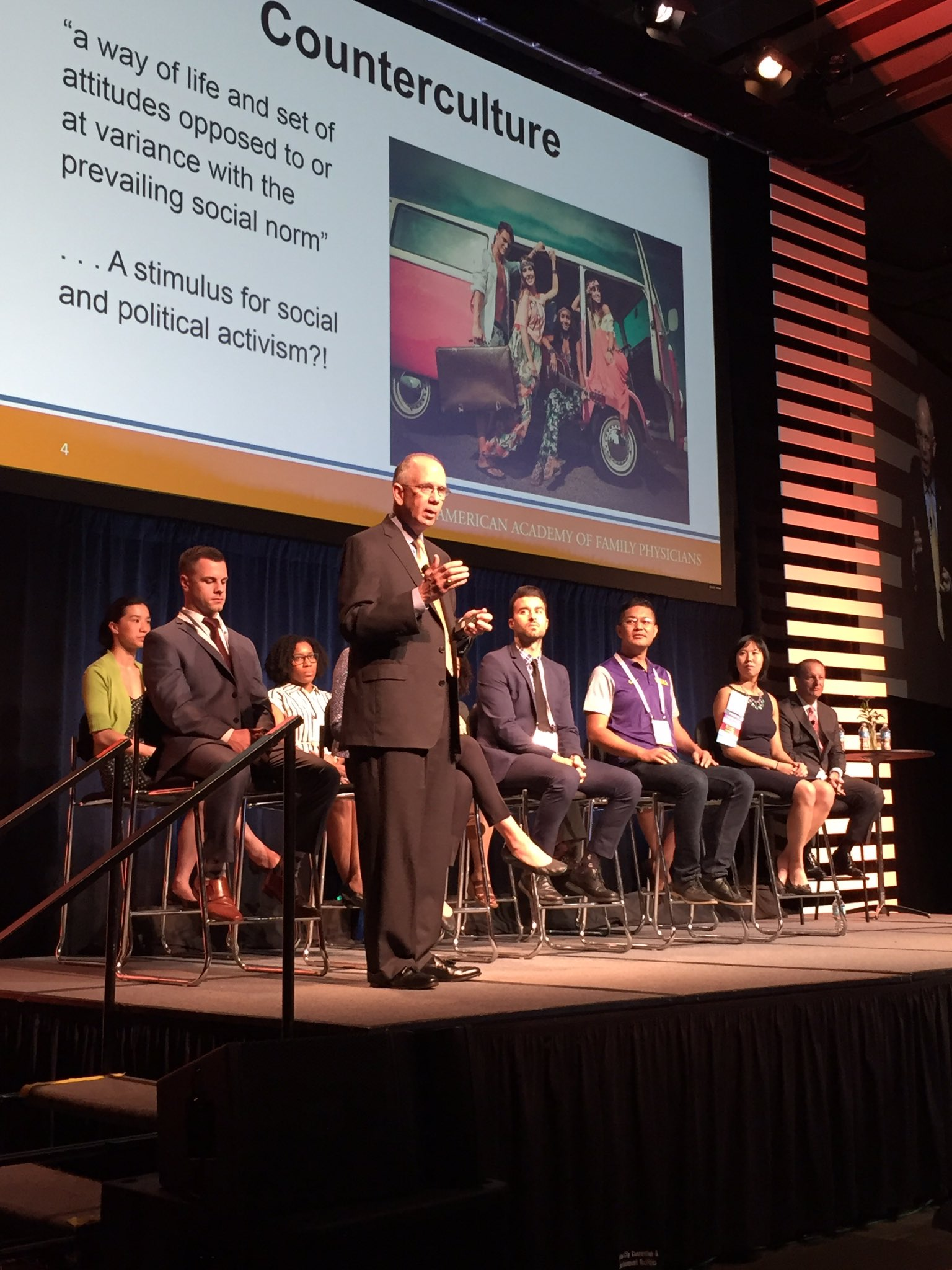 .@dhenleyceo asks #AAFPNC have we been inculcated into the system? Are we still feisty? https://t.co/lWkeTealVe
