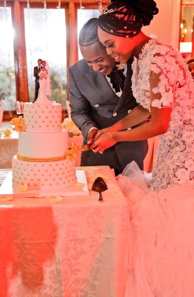 Pics Inside Bontle And Priddy Ugly S White Wedding Okmzansi