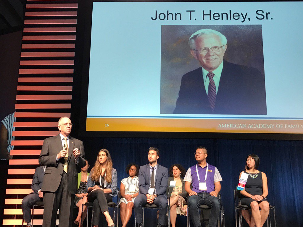 Powerful stories of caring, principle, advocacy and leadership from @dhenleyceo about his father at #AAFPNC https://t.co/duDxgfs1i0