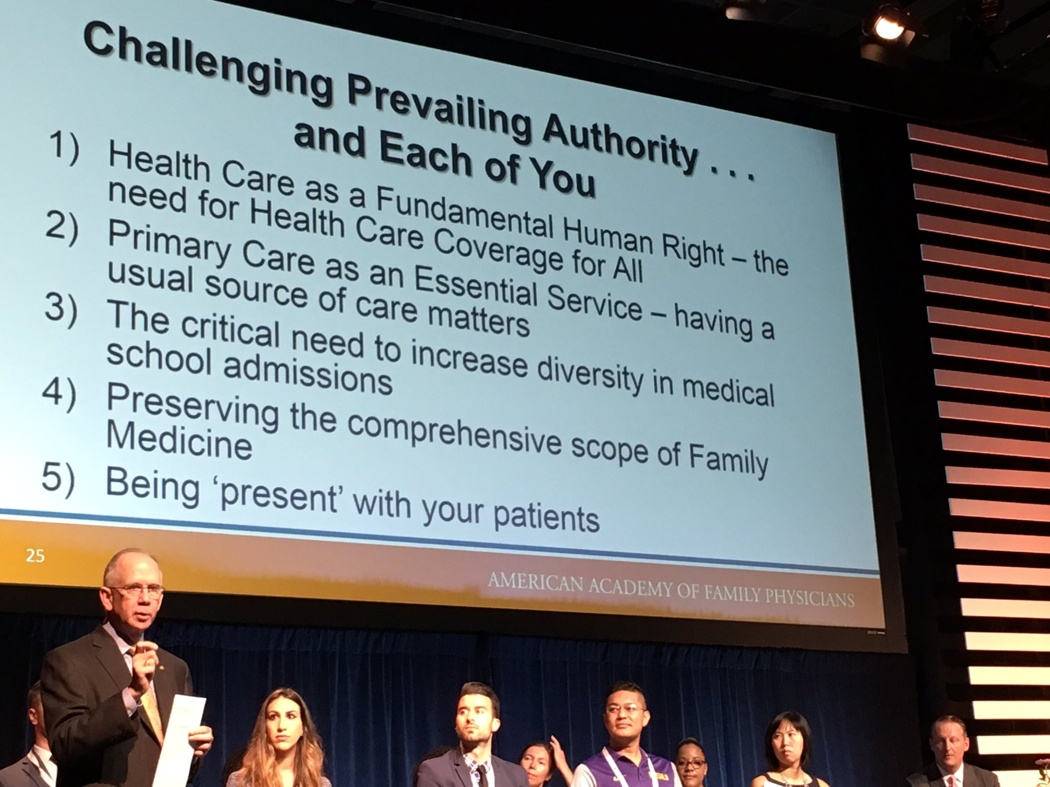 Family physicians must challenge prevailing authority. @dhenleyceo #AAFPNC https://t.co/87mKPGTYUo