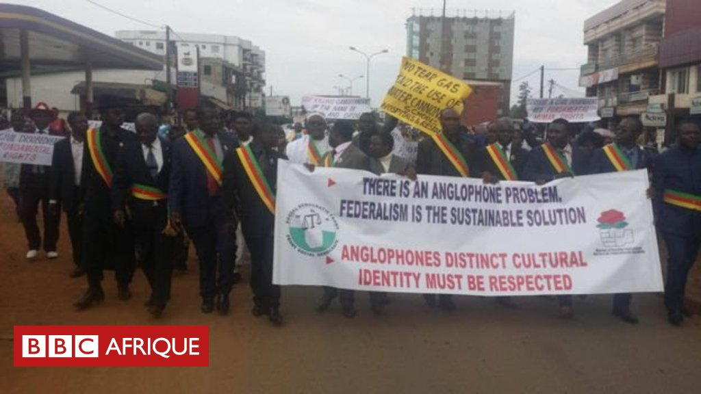 Des activistes réclament la partition du #Cameroun https://t.co/I08F4hoBKm