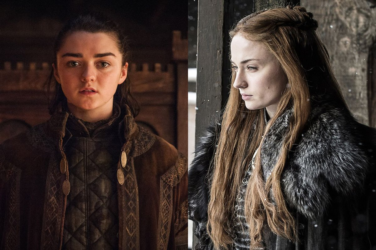This Game of Thrones theory about Sansa and Arya would be EPIC if it's true https://t.co/T5zR5nZ5FL